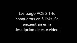 Descargar Age of empires 2 the conquerors PC FULL ISO