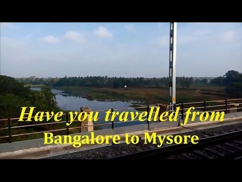 Bangalore to Mysore travel by train