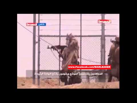 Yemen War 2015 - Houthi Rebels Storm And Destroy Saudi Arabian Borderpost After Fighting