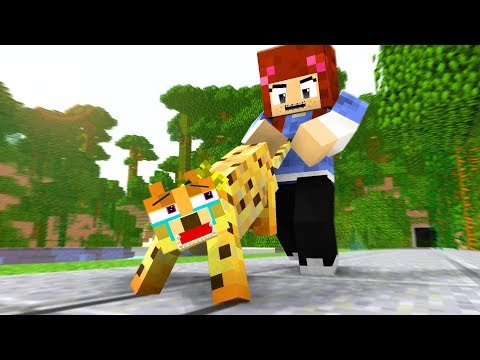 Ocelot Life Movie - Craftronix Minecraft Animation