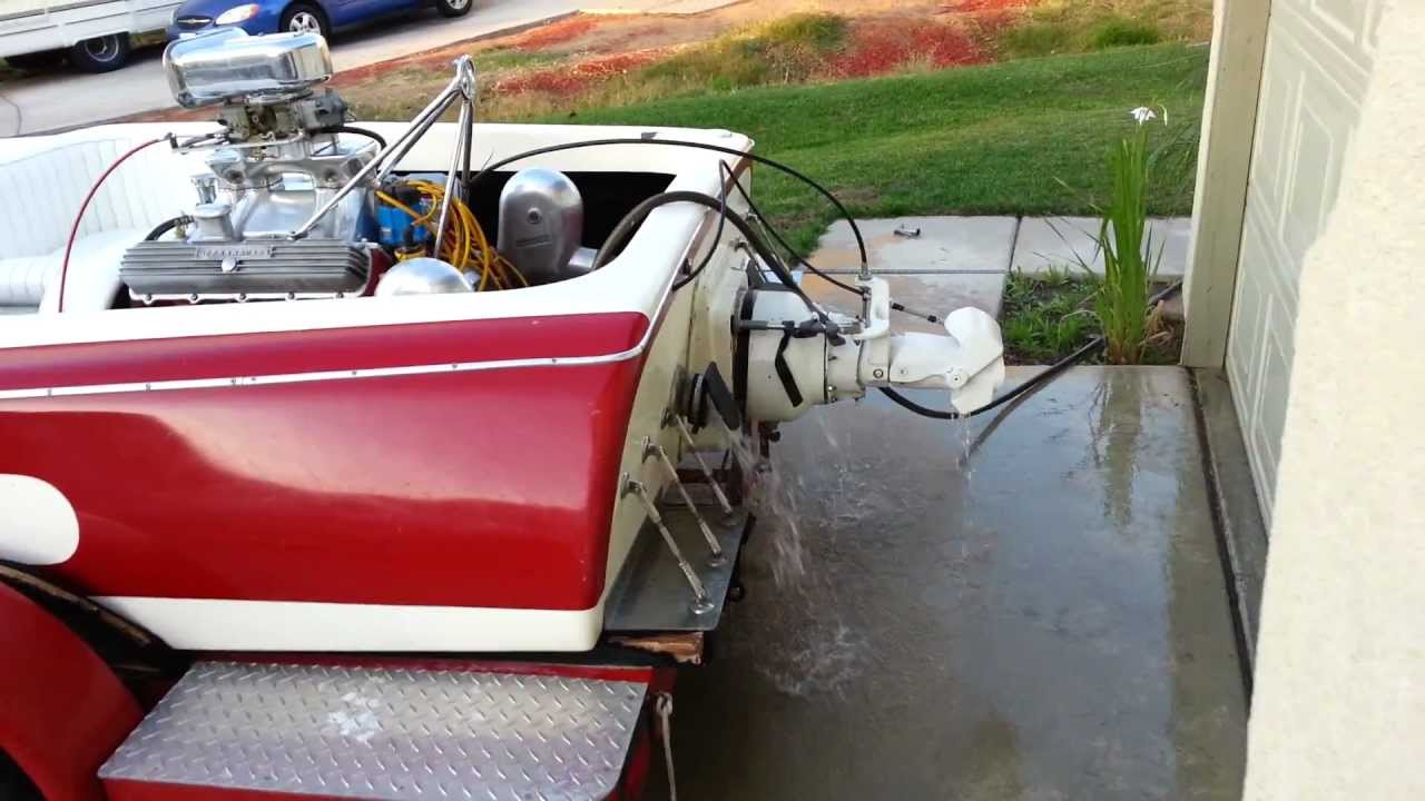 hose run 70 sleekcraft jet boat 455 olds w berkeley 12jb a n place diverter [ 1280 x 720 Pixel ]