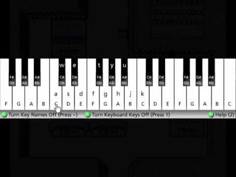 How to play Lavender Town Theme on Piano