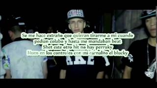 Toser one Ft Plucky   LLEGO LA HORA  LETRA
