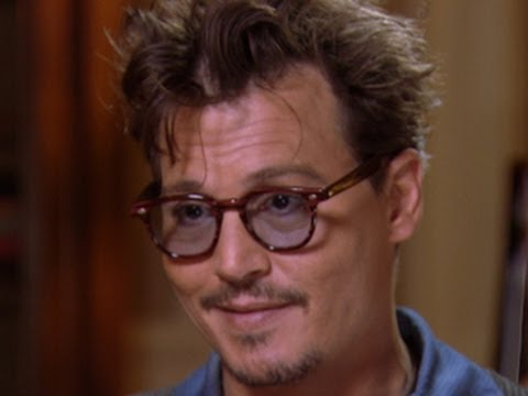 Johnny Depp does his best Marlon Brando impression