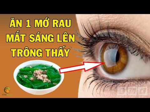 Ăn 5 LOẠI RAU NÀY Bằng 30 Triệu Tiền Thuốc Bổ Mắt, Mắt Sáng Hơn ĐÈN PHA Ô TÔ
