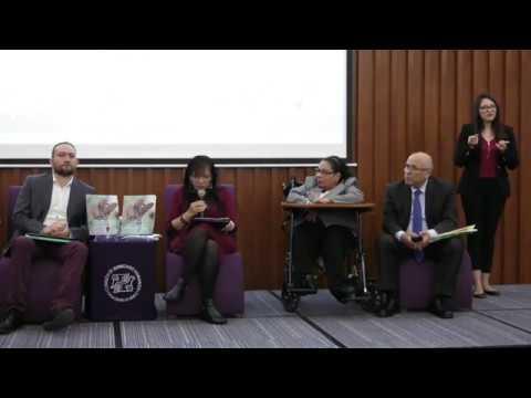 Discurso de Nashieli Ramírez en el Informe sobre los derechos de las Personas con Discapacidad