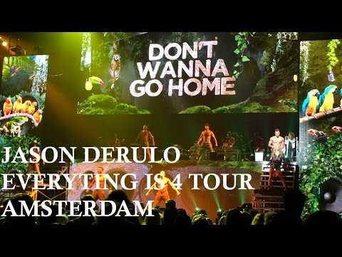 Jason Derulo - Everything is 4 Tour Amsterdam [FULL CONCERT]
