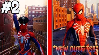 Let's Play - Marvel's Spider-Man Walkthrough [Episode 2] | SpiderCop! + NEW OUTFITS UNLOCKED!
