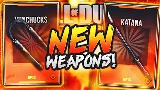 new INFINITE WARFARE WEAPONS...(Gameplay)