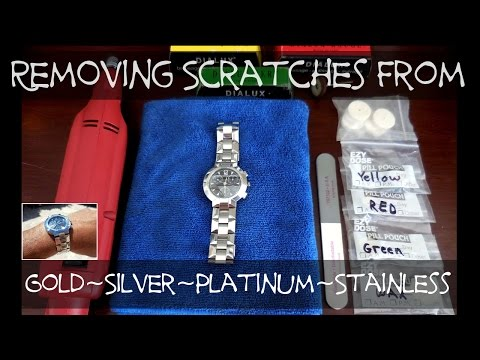 2797f114d How To Remove Light to Moderate Scratches From Jewelry - YouTube