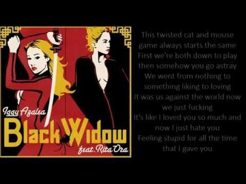 Iggy Azalea - Black Widow ft Rita Ora (Lyrics) - YouTube