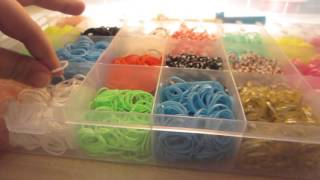 Обзор на набор резинок Rainbow Loom