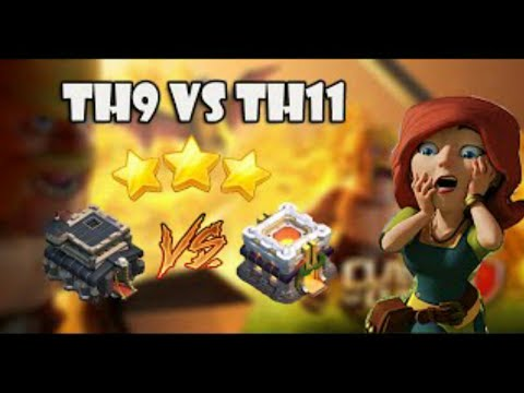 COC TH9 Titan Best Attack Strategy TH11 With Babylon
