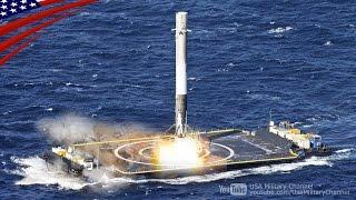 ファルコン9(再利用ロケット)の打ち上げと無人船への垂直着陸 thumbnail