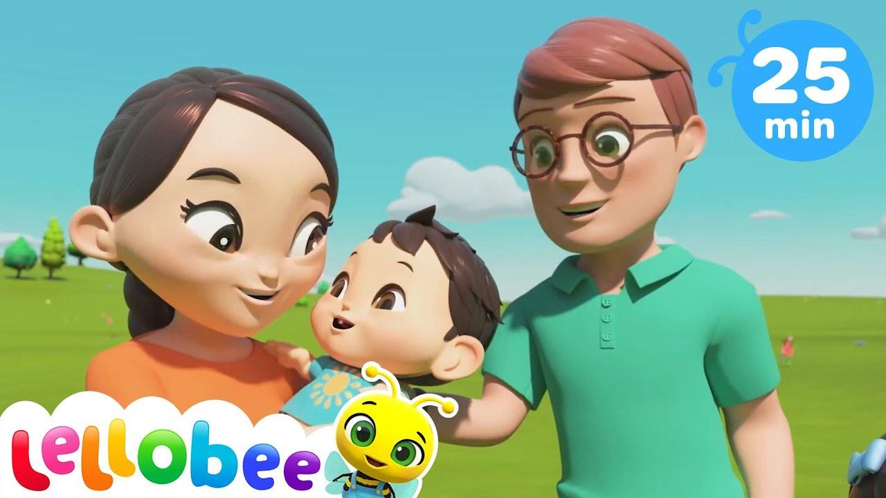 I Love My Daddy Song | Kids Songs & Nursery Rhymes | Little Baby Bum