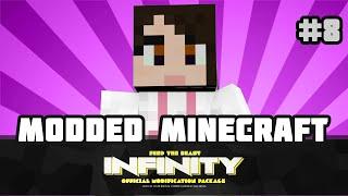 "FTB INFINITY: Minecraft Mods ""LUGGAGE AND CHUNKS!""  Ep 8"