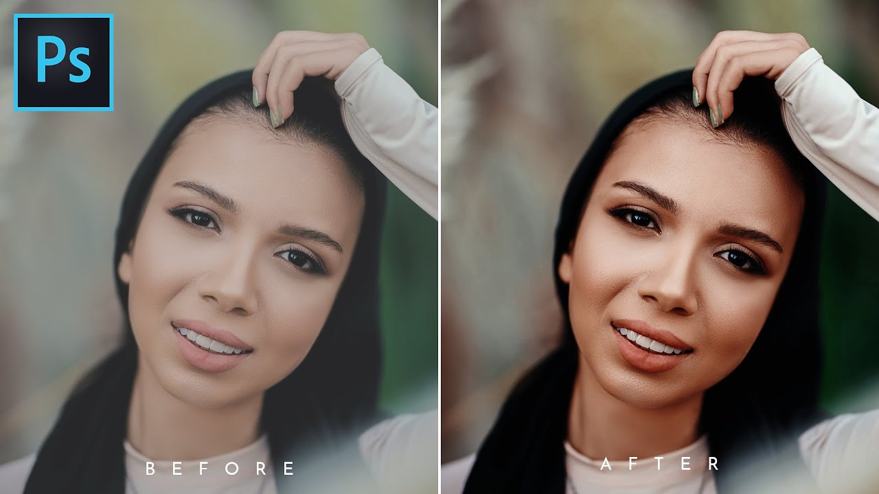 Pro Golden Skin Tone Effect in Photoshop | Photoshop Tutorial