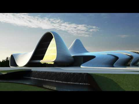 OAG3D-Heydar Aliyev Center by Zaha Hadid