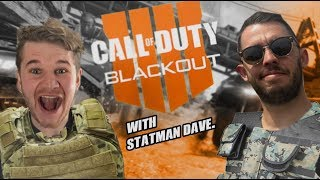 COD BLACKOUT DUOS WITH STATMAN DAVE! | BLACK OPS 4 GAME GIVEAWAY IF WE WIN A MATCH!