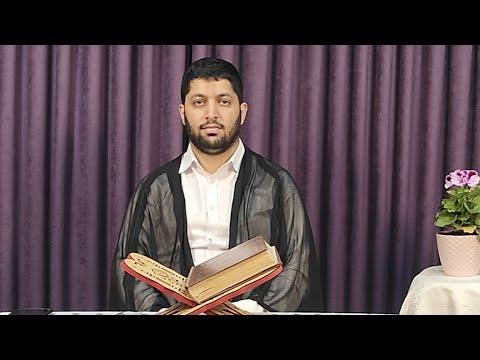 Hacı Rahib Qur'ani Kərimin 6-cı cüzün tərtil oxunuşu