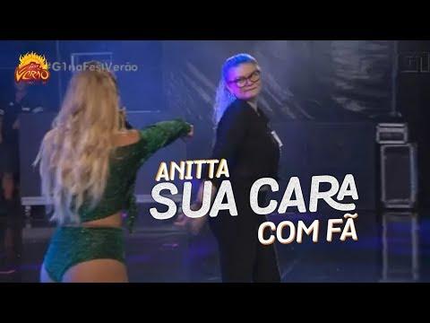 Anitta chama fã para dançar Sua Cara no Fest Verão Paraíba 2018