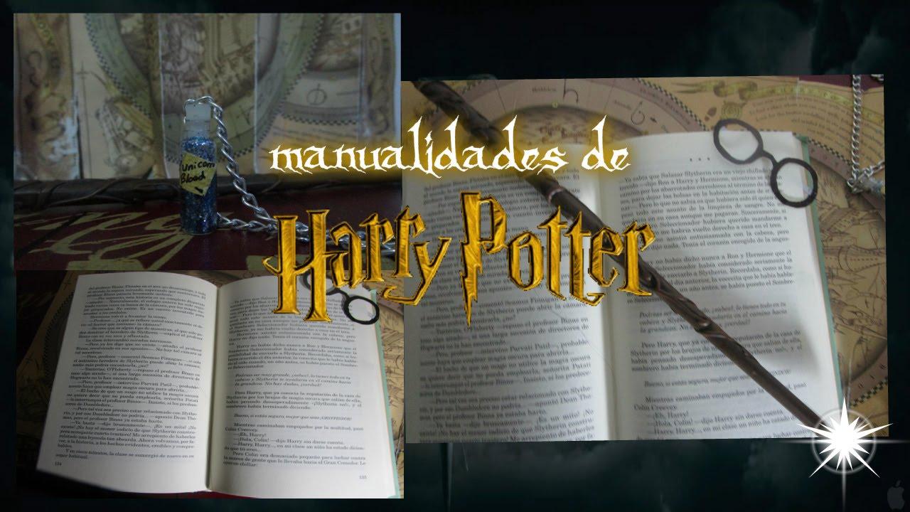 Diy Manualidades De Harry Potter ⱷ Youtube