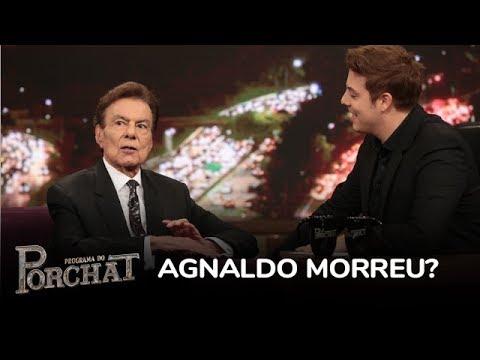 Agnaldo Rayol Relembra História De Quando Foi Dado Como Morto