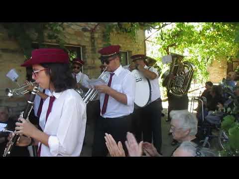 Carviçais, 22 Julho 2017. Banda Filarmónica Carviçais.