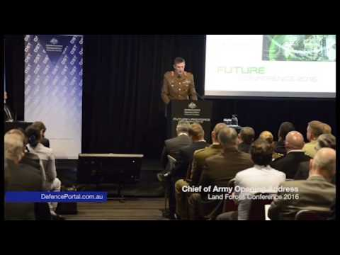 Land Forces Conference Opening Address 2016