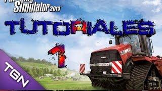 Tutorial como jugar Farming Simulator 2013 PARTE 1 Menu,botones y mapa