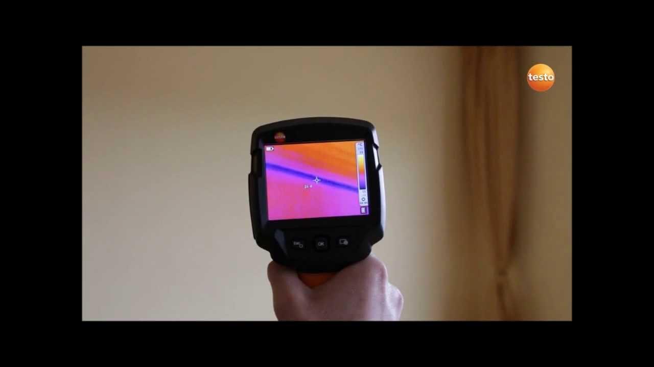 Testo 870-1 Testo 870-2 Für Die Bauthermografie - Youtube