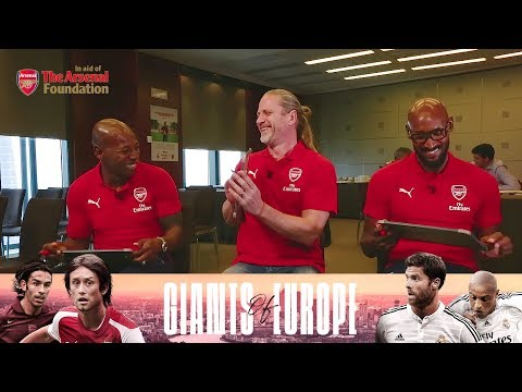 Who is the toughest Arsenal legend? | Team-mates with Anelka, Petit & Boa Morte