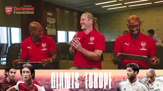 Who is the toughest Arsenal legend? | Team-mates with Anelka, Petit & Boa Morte