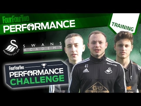 FourFourTwo Performance Challenge: Swansea City Academy