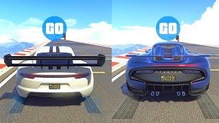 PFISTER NEON vs PFISTER 811!! TEST DE VELOCIDAD GTA 5 ONLINE