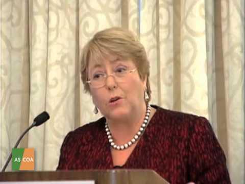 Palabras de Directora Ejecutiva de ONU Mujeres Michelle Bachelet en AS/COA
