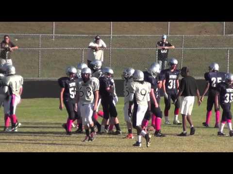 Cameron Kniebbe #11 Chancellor Middle School Bandits Highlight Video 2012-2013 Football Season