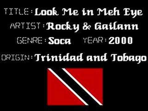 Rocky & Gailann  Look Me in Meh Eye  Trinidad Soca Music
