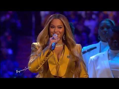 Beyoncé - XO & Halo (Kobe Bryant Tribute) [Live @Kobe & Gianna Bryant Memorial Service]