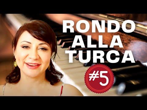 Rondo Alla Turca (Turkish March) Piano Tutorial - Part 5