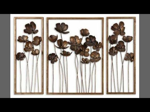 Diy metallic wall decor| wall hanging| room decor| diy wall decor| art my passion