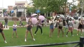 Kidder-Serak Flash Mob Proposal 5/23/15 Bruno Mars Marry You Zona Rosa SSG Dance Team