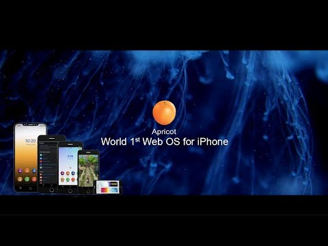 Apricot OS - World first Web OS for iPhone