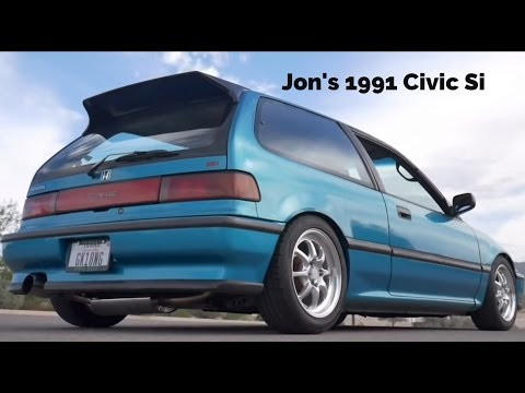 My 1991 Civic Si ED7 | B16A | EF Hatchback