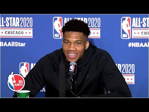 Giannis: Strategy Was To Get The Ball To Whoever Harden Was Guarding | 2020 NBA All-Star Weekend