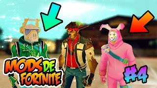THESE ARE THE BEST FORTNITE MODS FOR GTA SA PART #4 2018 By Isaac_ElPro DK