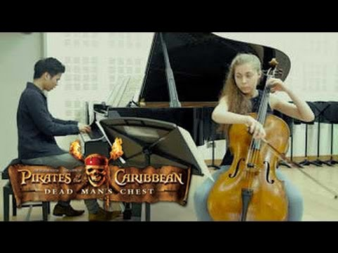Jack Sparrow Pirates of the Caribbean: Dead Mans Chest Cello & Piano
