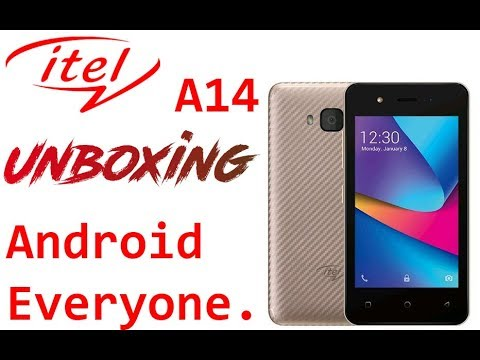 Itel A14 Unboxing & First Impression