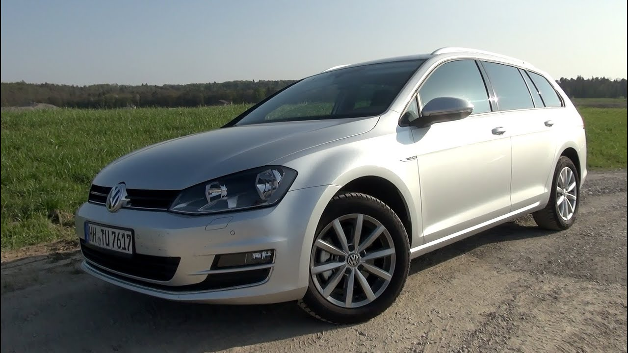 2015 vw golf vii variant 1 6 tdi 110 hp test drive youtube. Black Bedroom Furniture Sets. Home Design Ideas