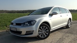 2015 VW Golf VII Variant 1.6 TDI (110 HP) Test Drive